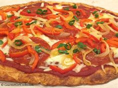 Cheese Head Pizza My Take On Fat Head Low Carb Pizza Low Carb