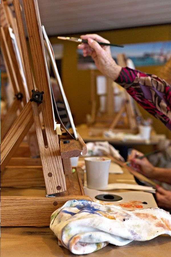 Oceania Cruises Artists Loft aboard the Marina and all-new