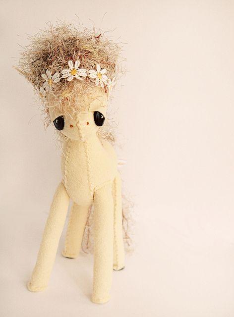 White Horse by Skunkboy Creatures., via Flickr