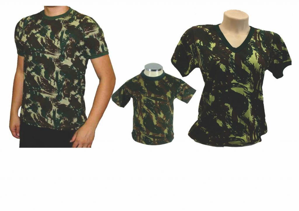 Camisetas camufladas  ae271b9be47