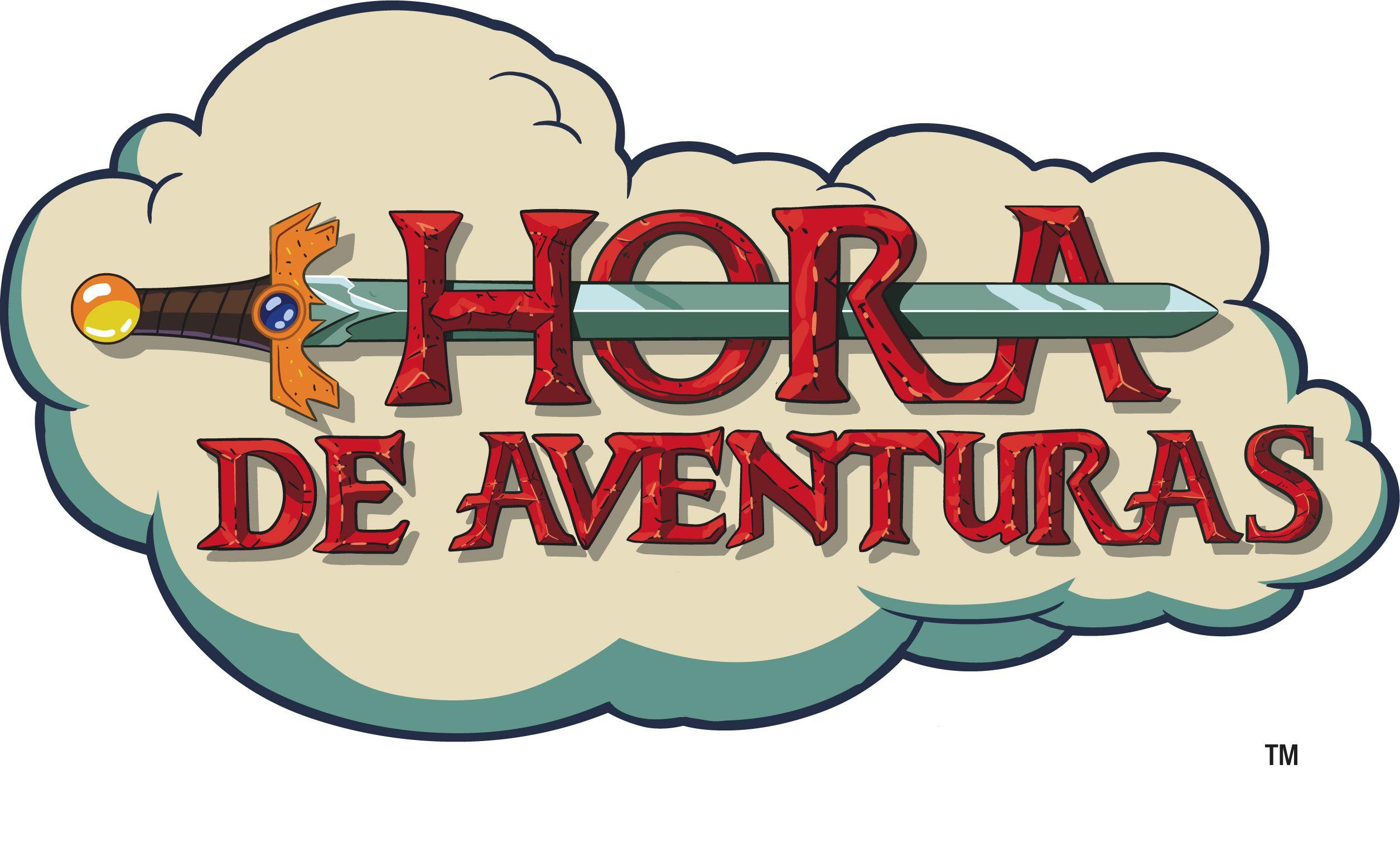 Logo de la serie Hora de Aventuras.