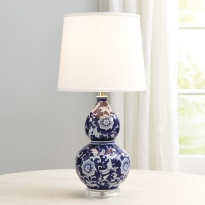 Blue White Double Gourd Table Lamp Living Room Pinterest