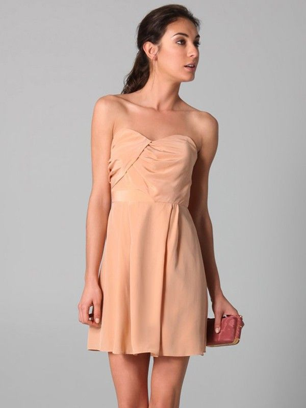 Peach Dresses Homecoming