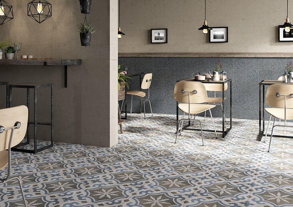 Tegels Met Patroon : Keramische tegels met patroon vintage sfeer vloertegels