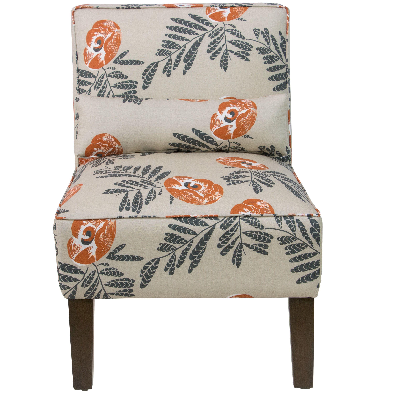 Red Barrel Studio Jennifer Floral Slipper Chair