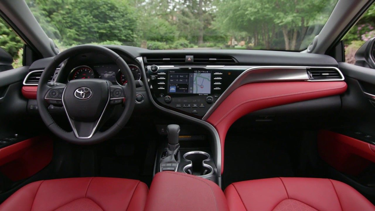 Toyota Camry 2018 Interior in 2020 Camry, Toyota camry