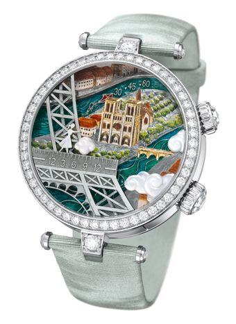 Van Cleef  Arpels  Lady Arpels Poetic Wish watch