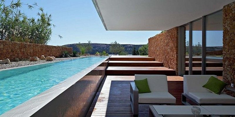 Exterior Modern Residence10 Olive House In Croatia Boasting An Impressive Mediterranean Garden