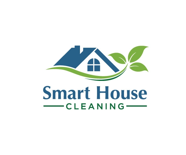 smart house cleaning logo