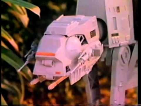 Vintage Kenner (1981) Star Wars: ESB Toy Commercial: Imperial AT-AT