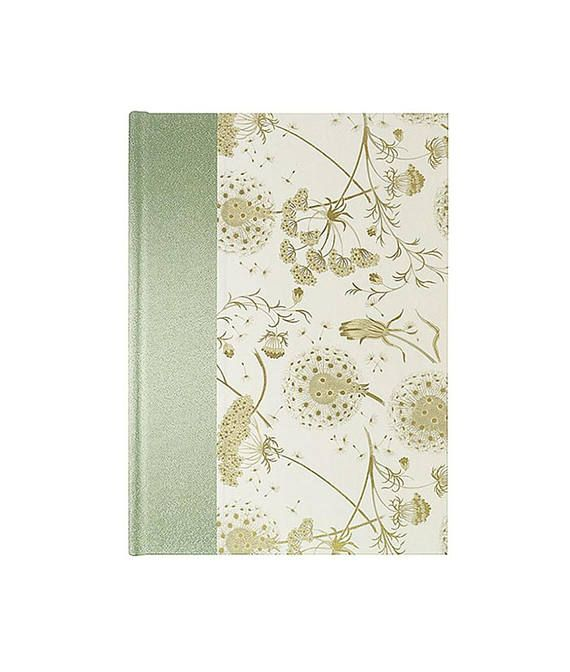 address book large dandelions and queen anne s lace journals
