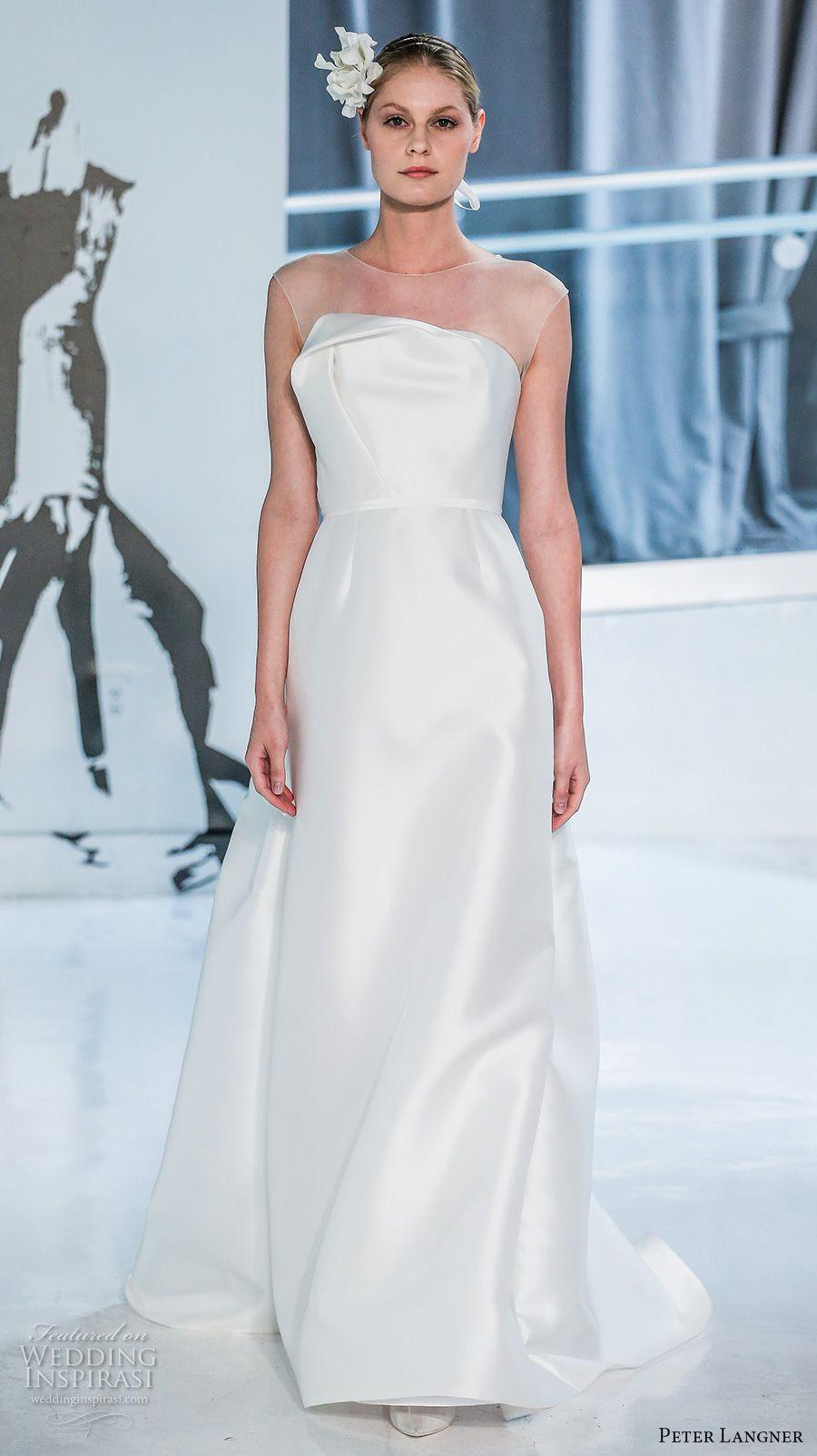 Peter Langner Spring 2018 Wedding Dresses — New York Bridal Fashion ...