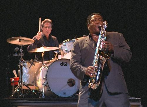 The ultimate rock 'n' roll horn. Pictured: Clarence Clemons.