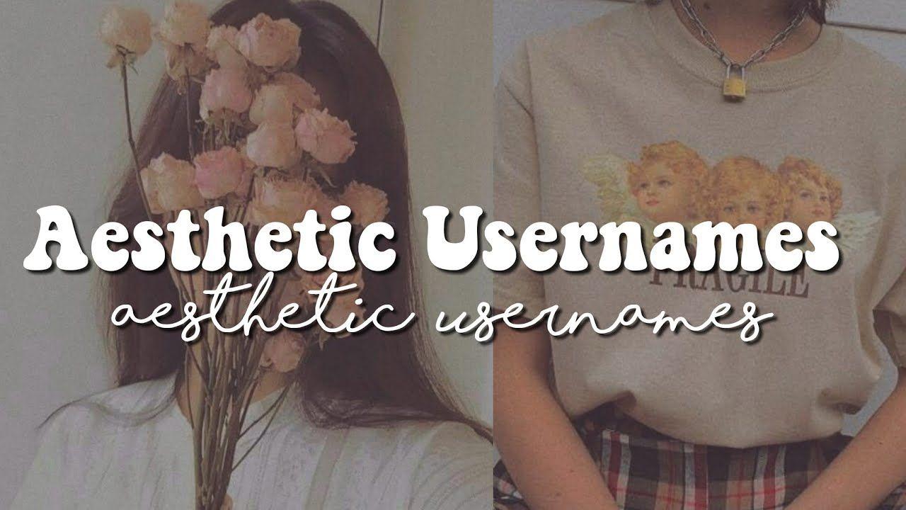 Aesthetic Usernames Youtube Aesthetic Usernames Aesthetic Words Instagram Aesthetic