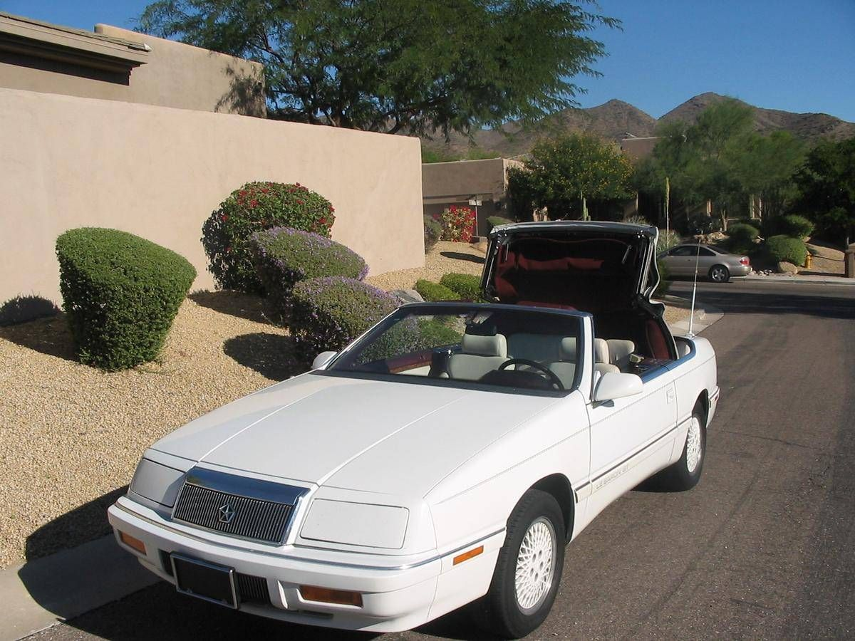 1990 Chrysler Lebaron Gt Convertible Chrysler Lebaron Chrysler