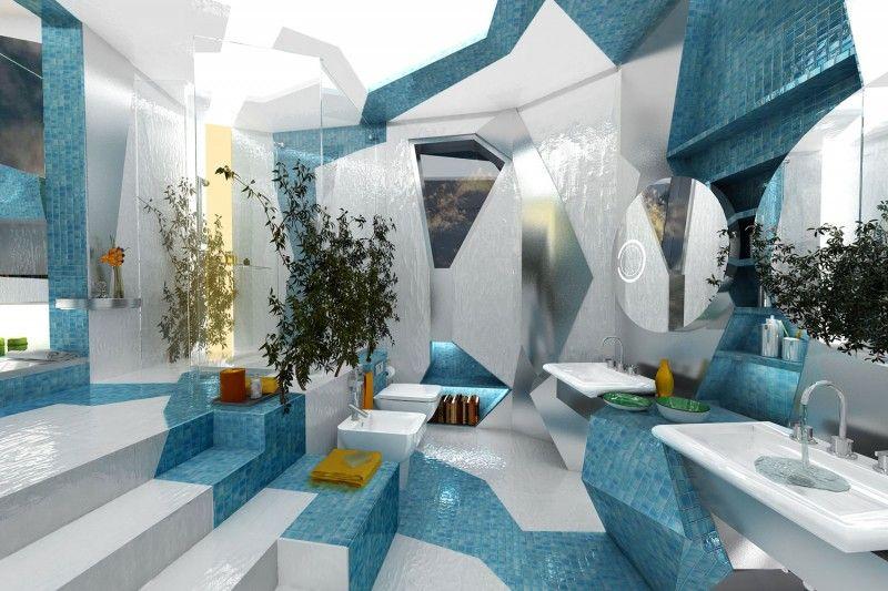 Elegant Now That Is A Crazy Bathroom. Part 18