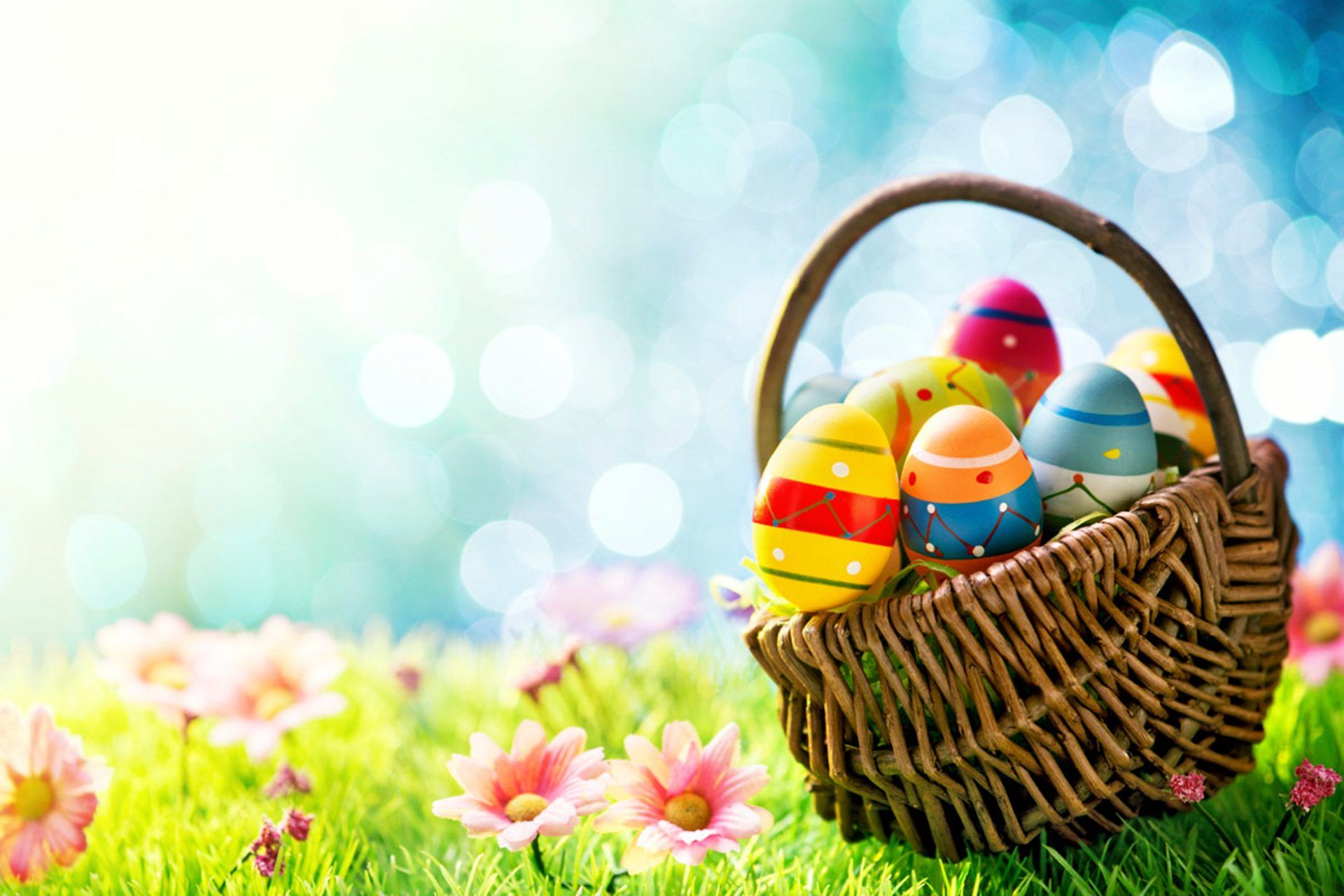 Easter Wallpapers Hd Download Free Colletion Easter Wallpaper Happy Easter Wallpaper Creative Easter Baskets