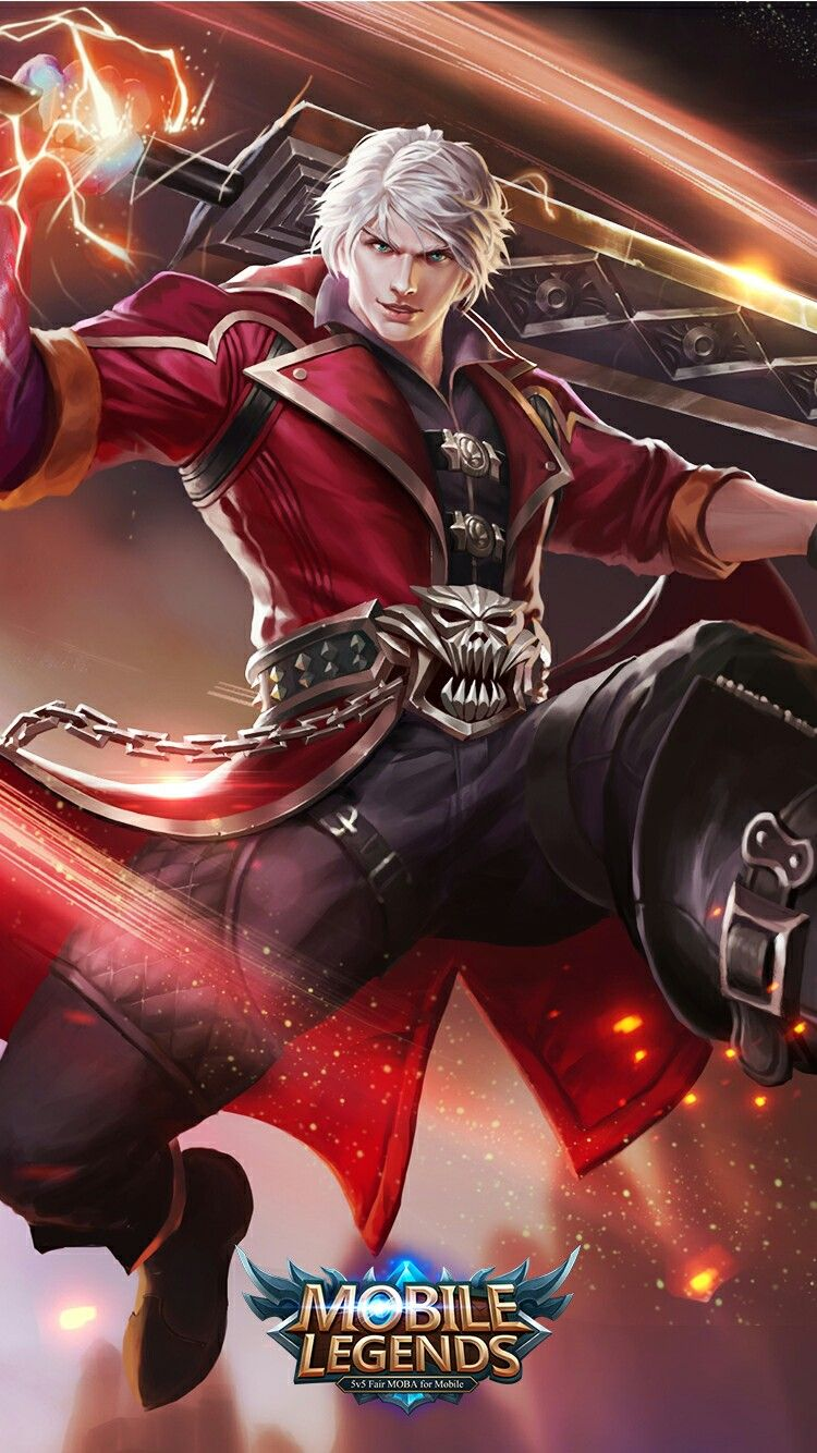 Alucard Mobile Legend Mobile Legend Pinterest Mobile Legends