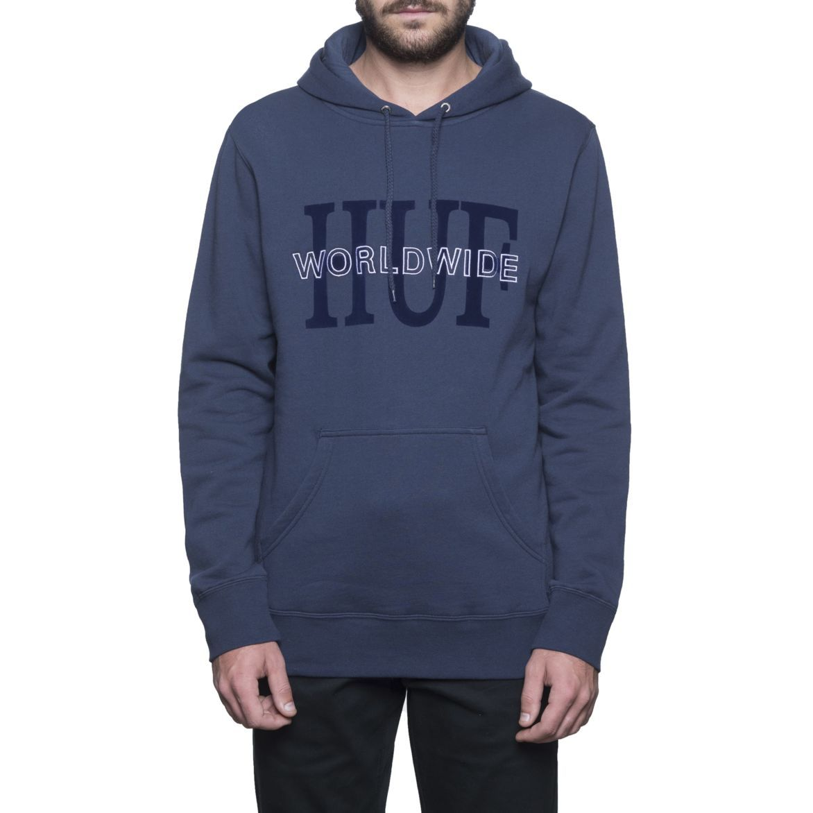 HUF National Pullover Hoodie • 8020 cottonpoly 330 gram