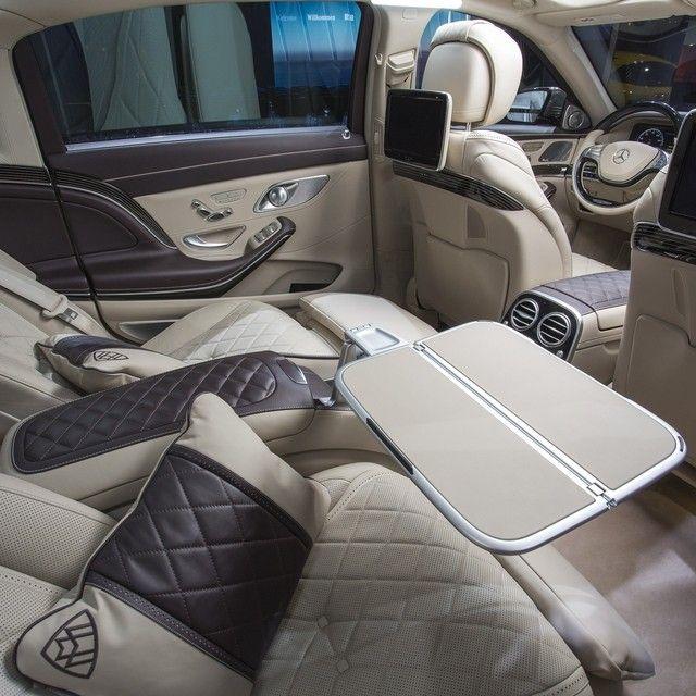 mercedes benz interior - Mercedes Maybach Interior