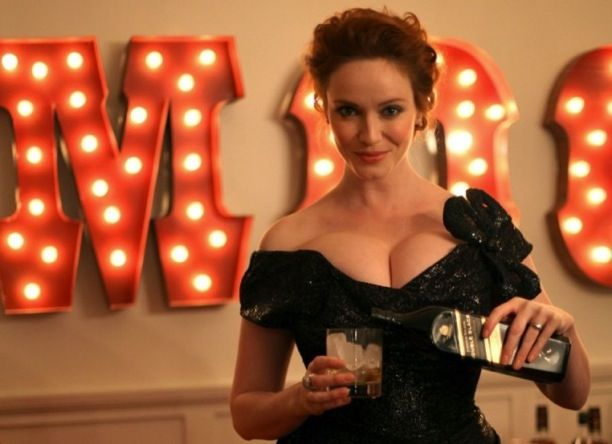 Christina Hendricks Johnnie Walker - Christina Hendricks Scotch Photo - Esquire