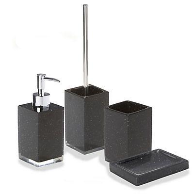 Paillette ensemble d 39 accessoires de salle de bains for Accessoires de salle de bain chez alinea
