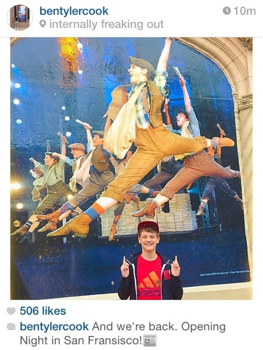NEWSIES ON TOUR - Ben