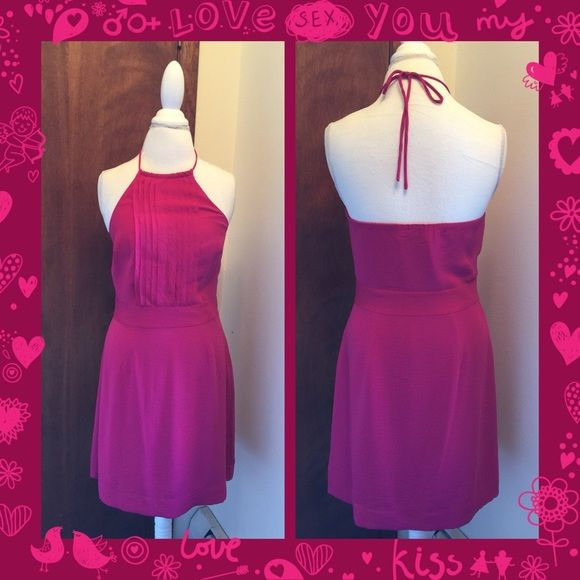 Dress Super sexy halter top dress. Perfect for date night. 100% Polyester.  Banana Republic Dresses Backless
