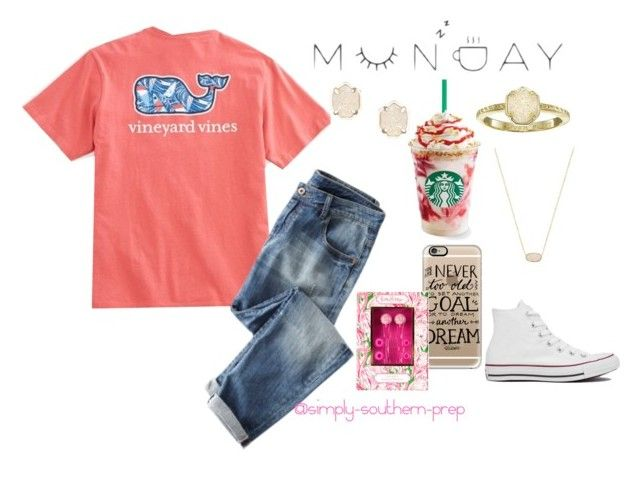 """""""Inservice tomorrow @ school.❤️"""" by simply-southern-prep ❤ liked on Polyvore featuring Casetify, Lilly Pulitzer, Converse, Kendra Scott and country"""