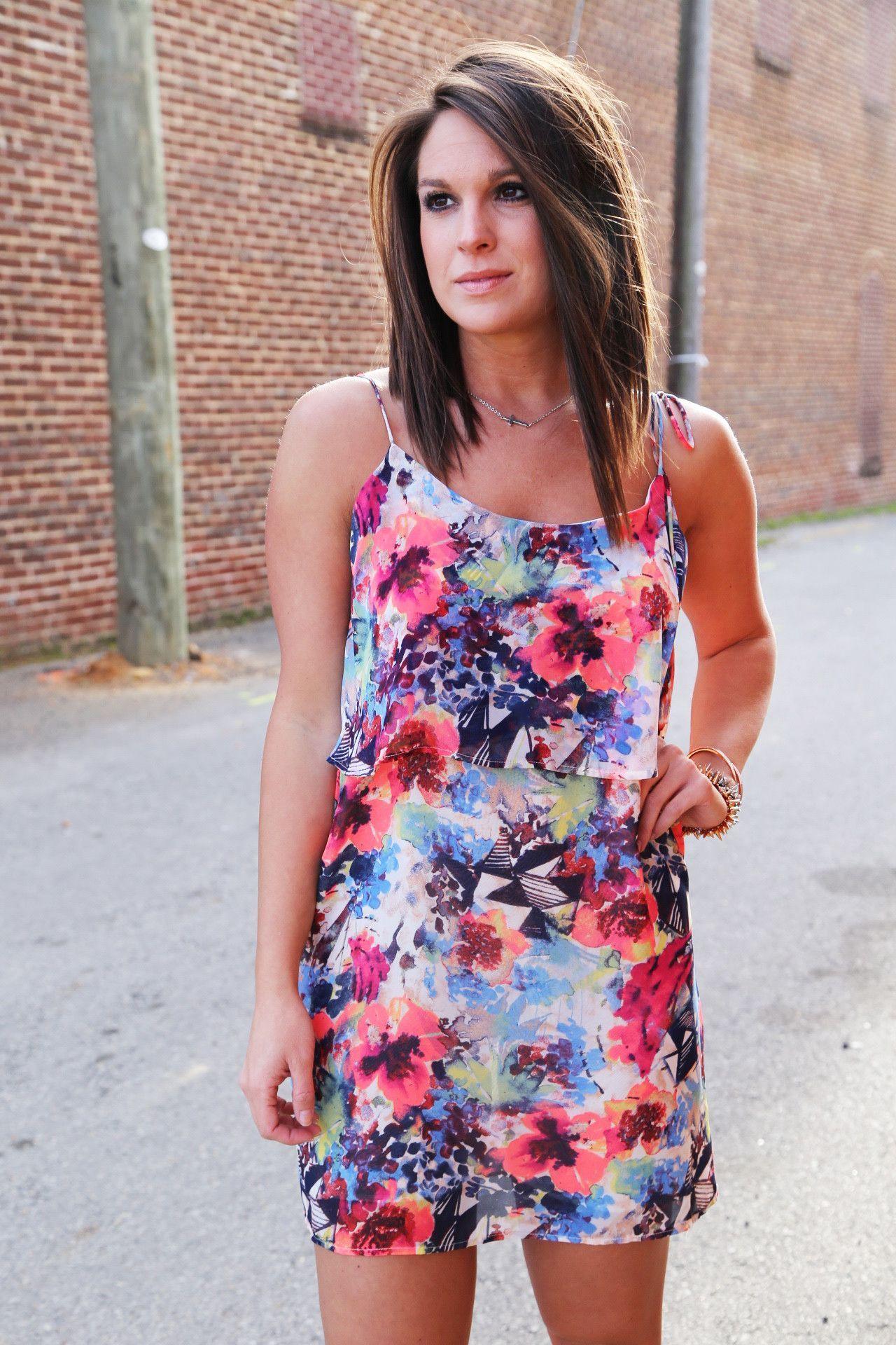 Best Floral Ever Dress