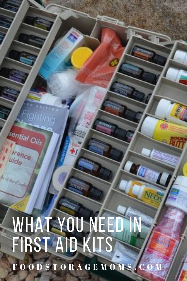 What You Need In First Aid Kits