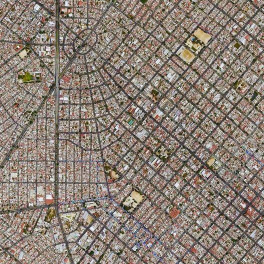 Civilização em perspectiva: O mundo visto de cima,Guadalajara, Mexico. Image Courtesy of Daily Overview. © Satellite images 2016, DigitalGlobe, Inc