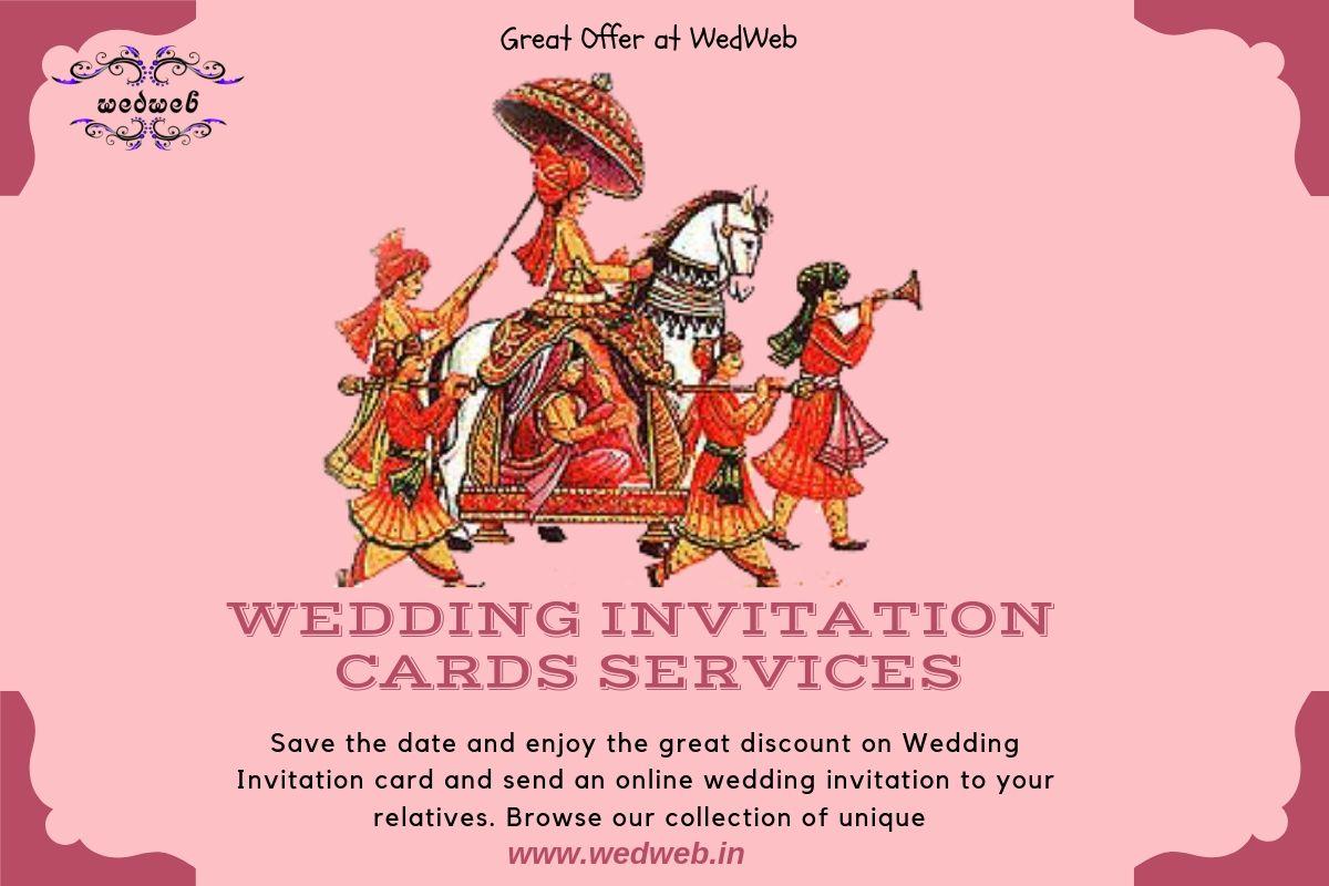 Premium Wedding Invitationcards Services At Wedweb Make A Good