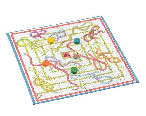 SNAKES & LADDERS CARD & LINEN BOARD GAME by Jaques of London, http://www.amazon.co.uk/dp/B004U7J5X2/ref=cm_sw_r_pi_dp_Gw3wsb0QHS2KN