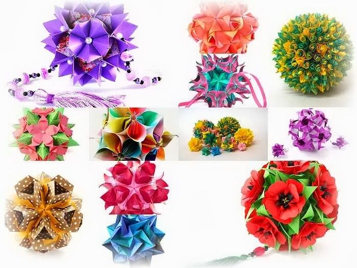 Кусудама - лечебное оригами