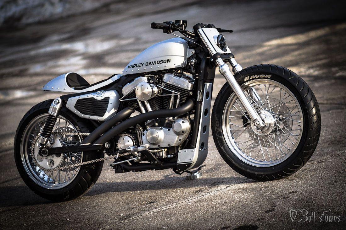 Harley-Davidson : Sportster Cafe Racer Custom bobber ...