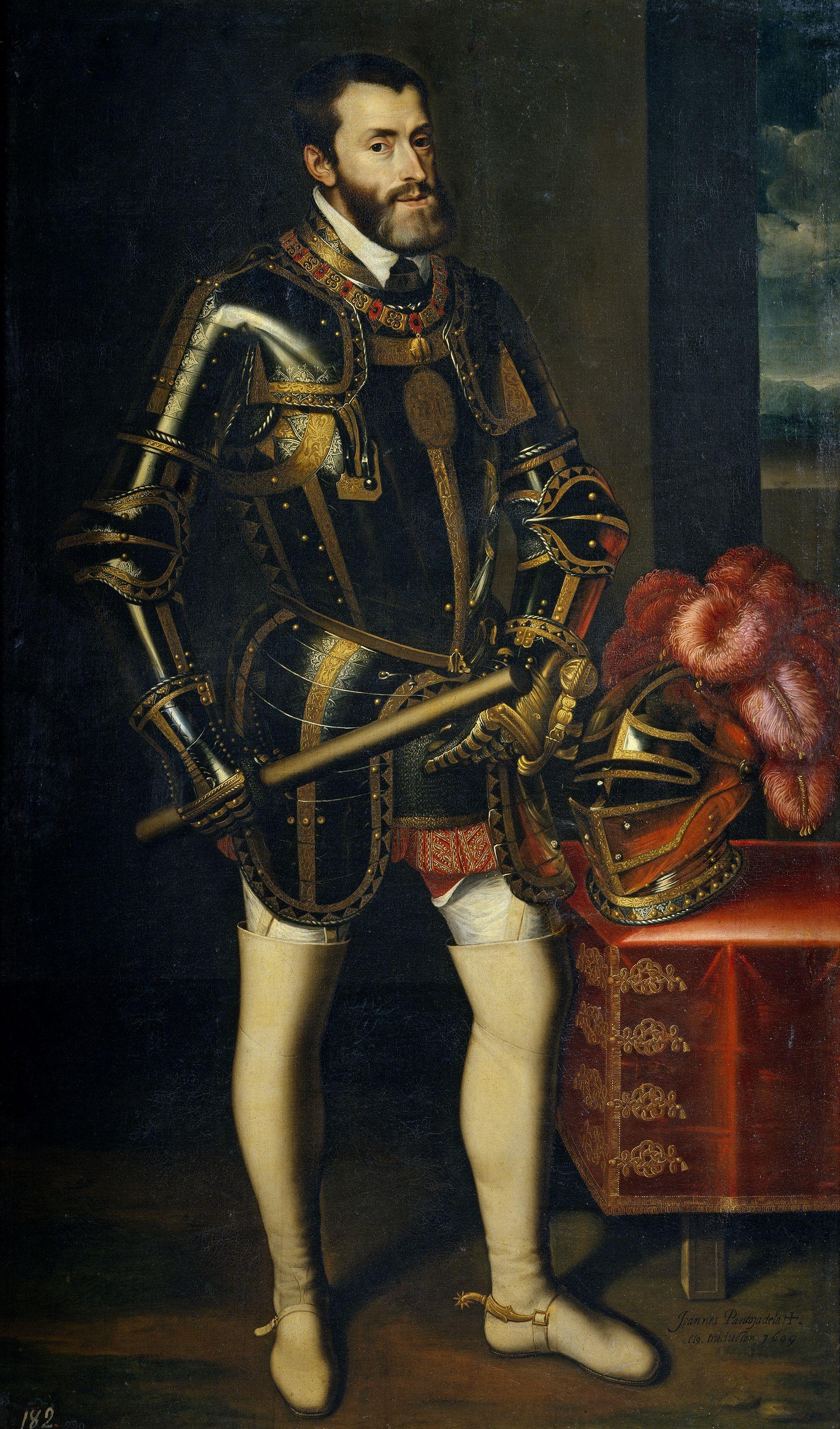 Emperor Charles V Painting
