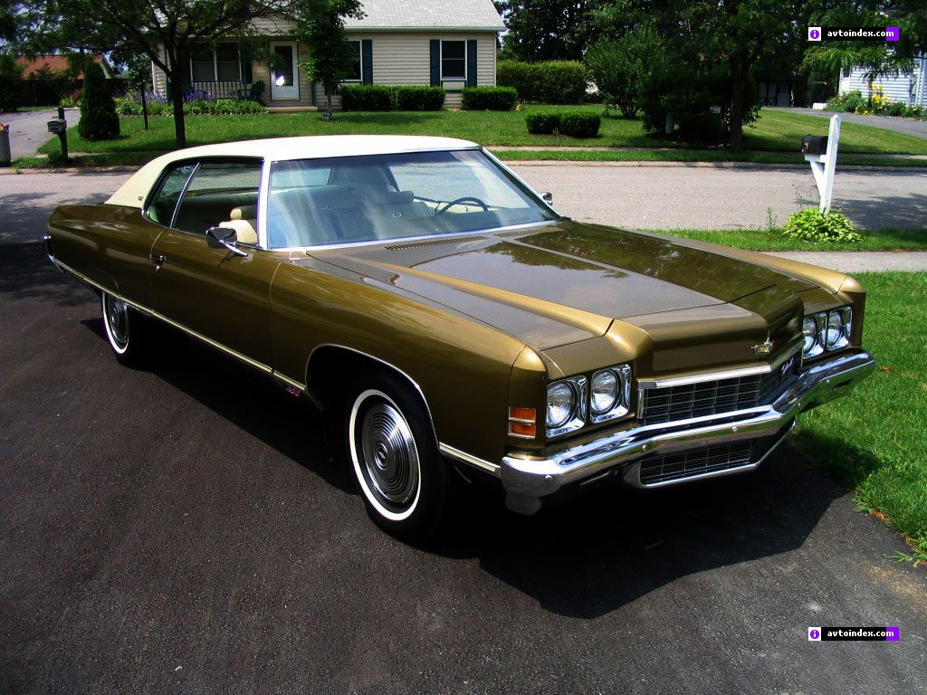 1972 Chevrolet Caprice. One of my favorite 70's car designs.