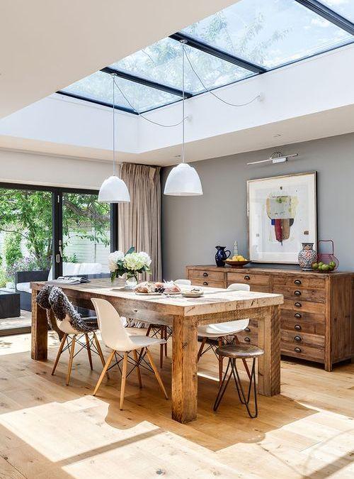 Tavolo legno grezzo di design in legno massello | Sconto 15 ...