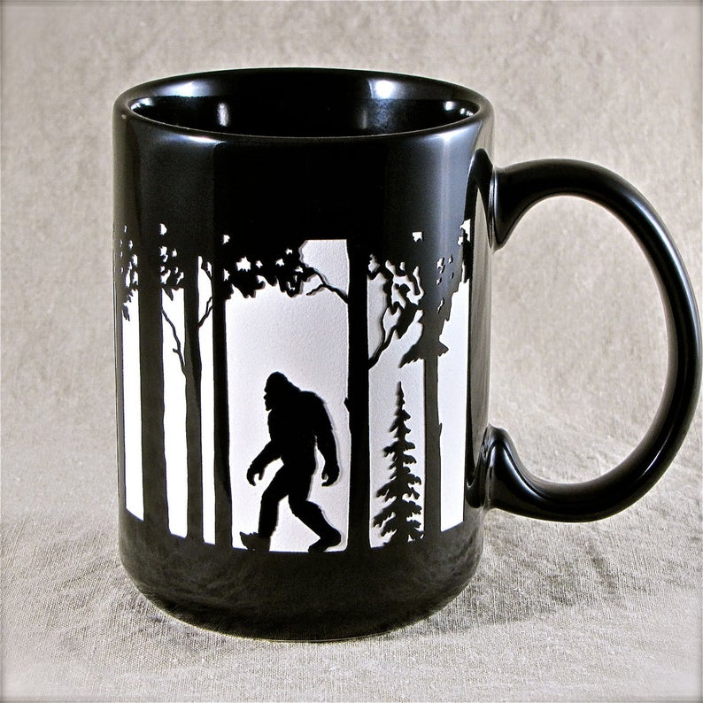 NEW Big Foot Coffee Cup Personalized Engraved Gift with