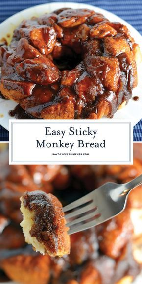 Easy Monkey Bread- Delicious Monkey Bread with Biscuits