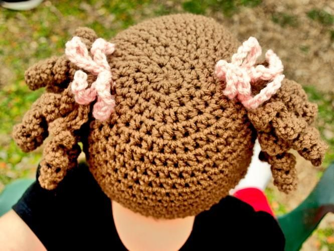 Little Miss Curly Q Beanie   My Style   Pinterest   Fasching ...