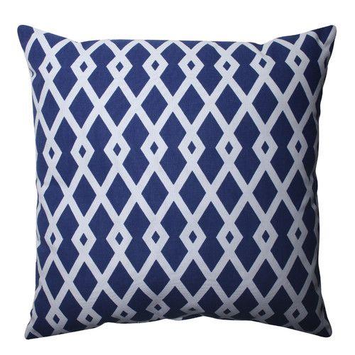 Pillow Perfect Geometric Throw Pillow Reviews Wayfair Throw Pillows Blue Throw Pillows Geometric Throw Pillows