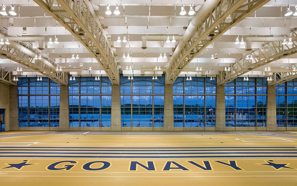Hks Architects U S Naval Academy Wesley Brown Field House Architect Architecture Design House