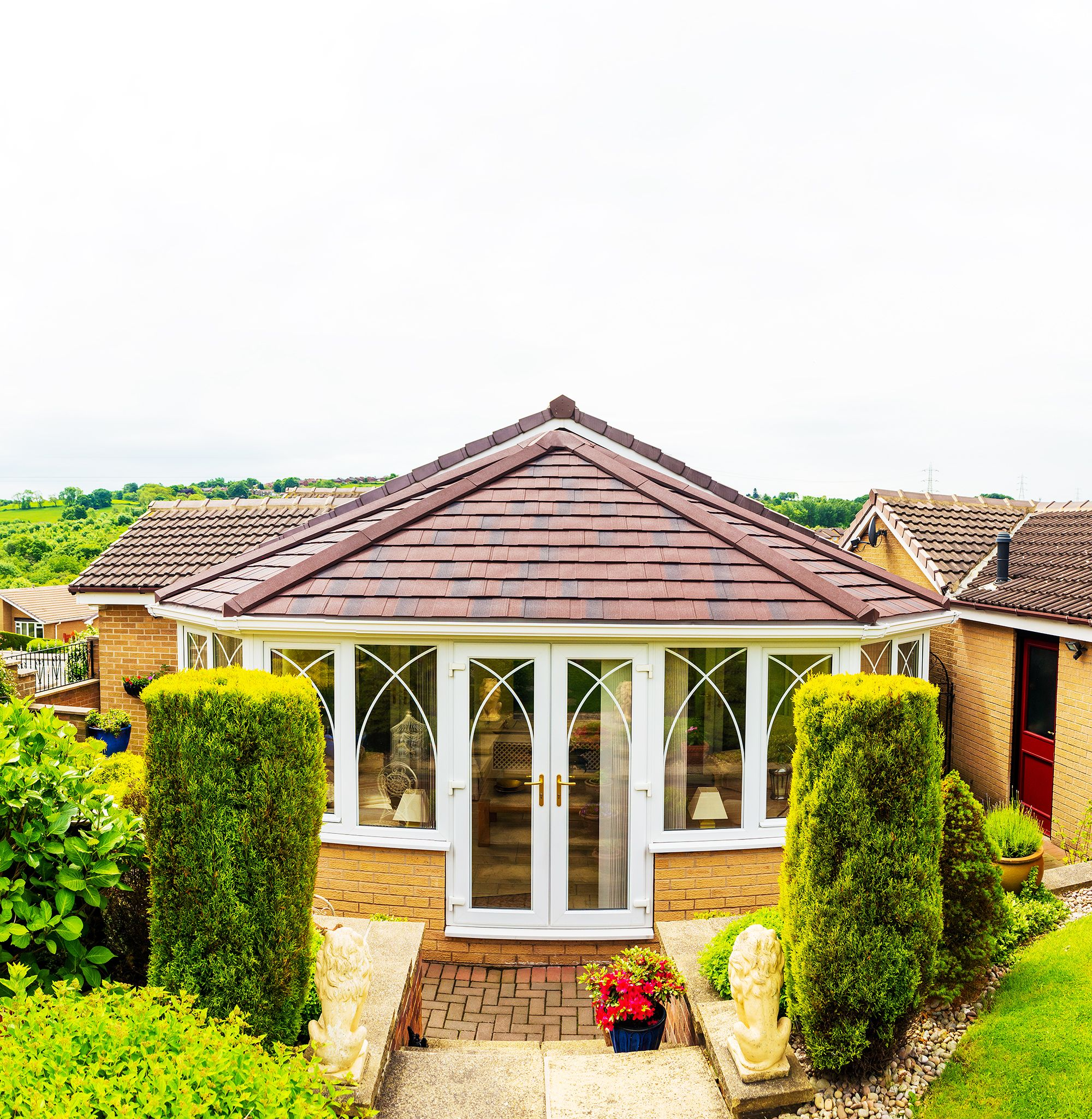 Replace Your Existing Conservatory Roof With A Garden Room: Supalite By Solarframe; A Stunning Large Tiled
