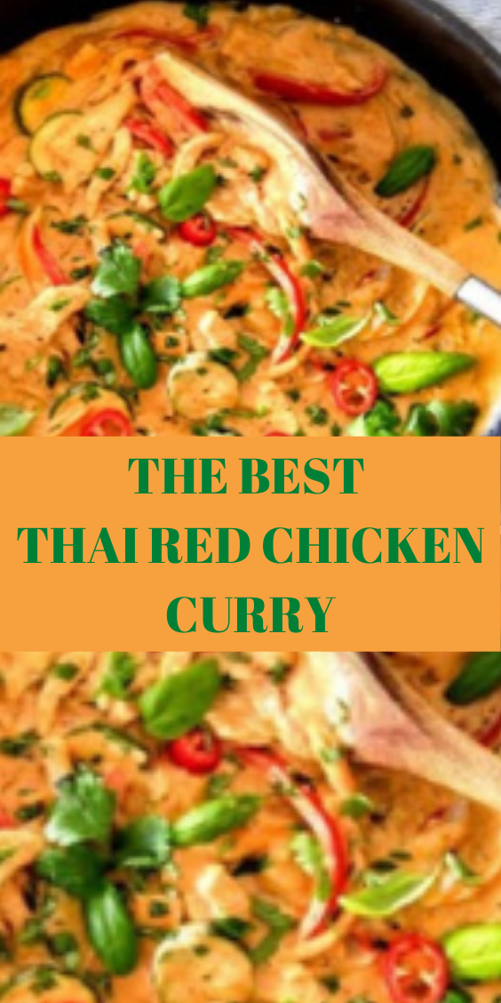 #THAI #RED #CHICKEN #CURRY THE BEST THAI RED CHICK