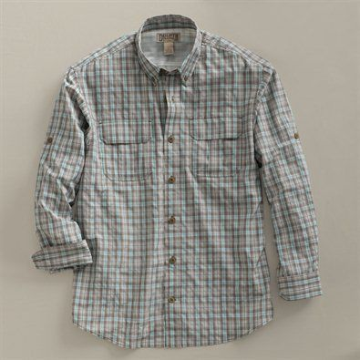 Mens Long Sleeve Patterned Armachillo Shirt From Duluth Trading Co