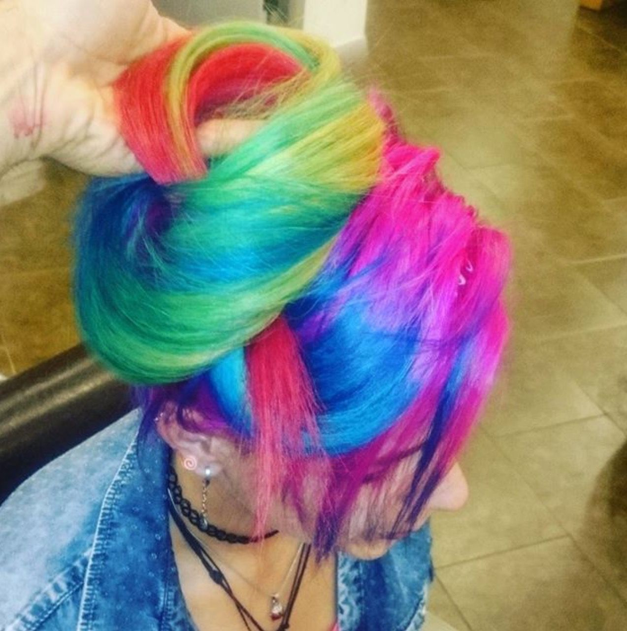 Crazy Color Hair Olaplex