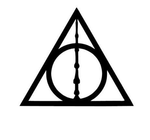 Harry Potter Inspired Deathly Hallows w / Elder Wand Vinyl Decal for Car … – Harry Potter Inspired Deathly Hallows w …
