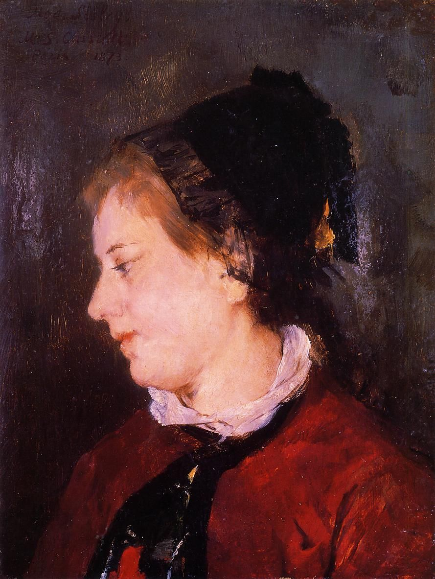 Portrait of Madame Sisley,   Mary Cassatt - 1873